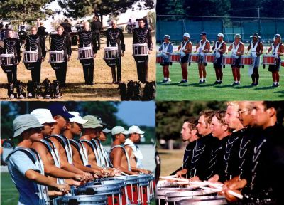 Year: 2001; Kollage of 2000 and 2001 Kavies snare lines