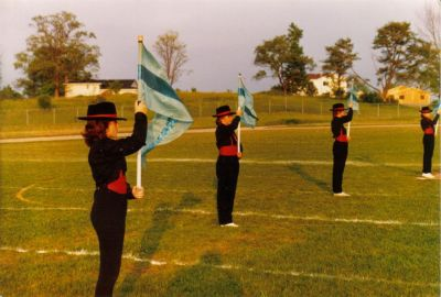 Year: 1986; Colour Guard