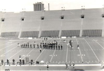 Year: 1987; On the field